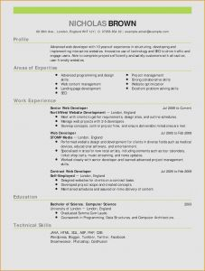 Free Teacher Resume Template - 48 New Teacher Resume Template Free