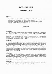 French Resume Template - French Francophone Countries Reference Awesome Examples Resumes