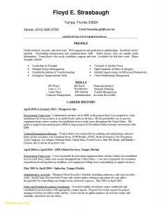 General Contractor Resume Template - √ Administrative Coordinator Resume Sample Elegant Admin Resume