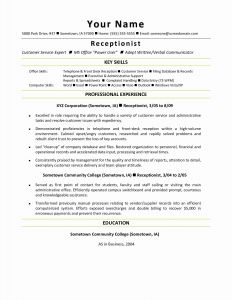 General Contractor Resume Template - General Contractor Job Description Resume Fresh Resume for Jobs