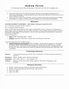 Georgetown Resume Template - 48 Fresh Templates for Resume Resume