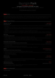 Github Resume Template - Awesome Resume solab Rural