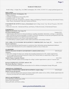 Golf Resume Template - First Resume Samples