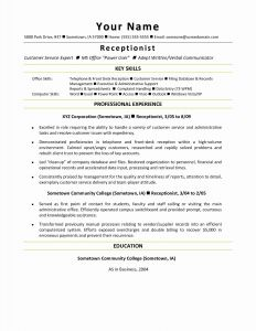 Goverment Resume - Good Resume Words Luxury Best Federal Government Resume Template