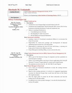Grad School Resume Template - Best Resume Templates for Graduate School