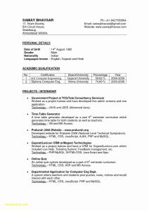 Gwu Resume Template - Brilliant New Resume Templates 2017