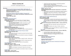 Gwu Resume Template - Education Teacher Resume Examples Bokeum Audrey Ra 312 636 8813