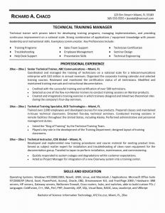 Hardware Resume - Tele Munications Resume New Custom Calendar Pany Fresh Skills for