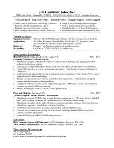 Hardware Skills In Resume - Puter Hardware Skills for Resume Download Free Puter Skills