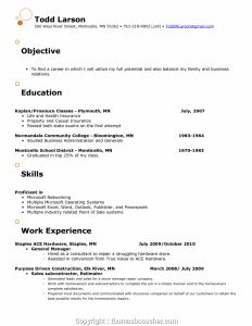 Hardware Store Resume - Resume Retail Store Manager Resumes for Store Managers April