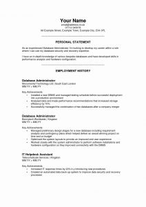 Hardware Store Resume - 37 Unique Resume Personal Statement Examples Resume Templates
