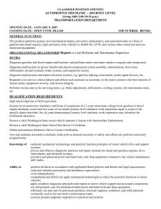 Heavy Duty Mechanic Resume - Auto Detailer Resume Save Auto Body Repair Resume Example Auto