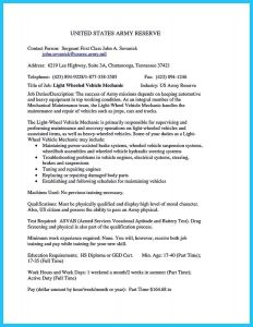 Heavy Duty Mechanic Resume - Automobile Cv format Awesome Car Mechanic Resume