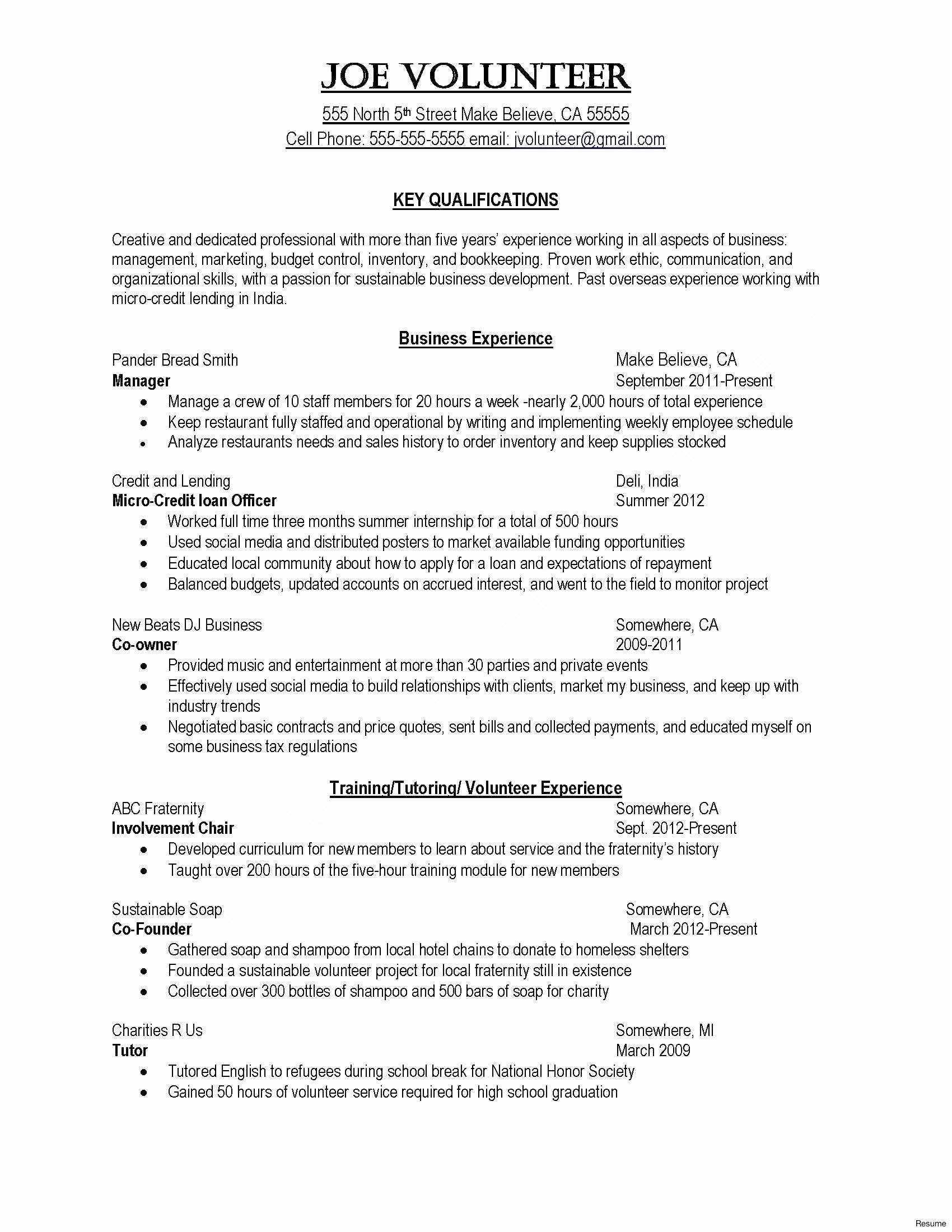 hr generalist resume template Collection-Sample Hr Generalist Resume Inspirational Free Resume Examples Fresh Business Resume 0d 3-l