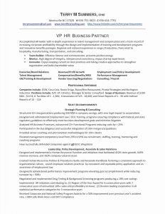 Hr Manager Resume Template - Sample Hr Resumes New Hr Manager Resume Inspirational Hr Resume