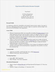 Hr Resume - Actual Free Resume Builder Awesome Hr Manager Resume New American