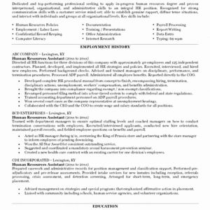 Human Resource Manager Resume Template - Sample Human Resources Manager Resume New Human Resources Manager