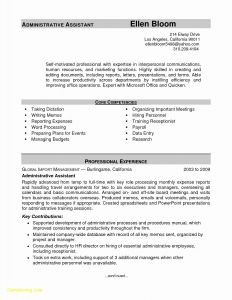Human Resources Resume Template - Resume Sample for Hr Manager Elegant Hr Manager Resume New American