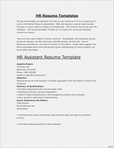 Human Resources Resume Template - Engineering Resumes Templates Save Fresh Pr Resume Template Elegant