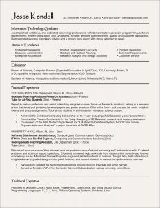 Information Technology Resume Template Word - Resume Templates for Open Inspirationa Resume topics Best ¢‹†…