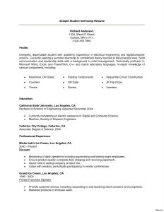 Internship Resume Template Word - Mba Summer Internship Certificate Sle Copy 1 Reportship