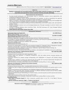 Investment Banking Resume Template - Banking Resume Template Lovely Banking Resumes Templates Nanny
