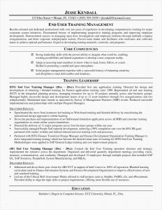 It Project Manager Resume Template - Resume Template Project Manager It Project Manager Resume Unique Cto