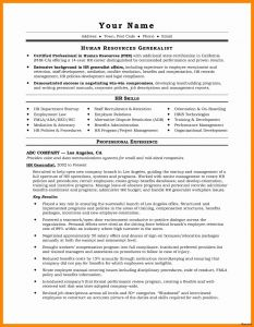 It Resume - Example A Professional Resume for A Job Free Downloads Resume for