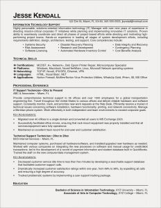 It Technician Resume - Technician Resume Examples New Auto Mechanic Resume American Resume