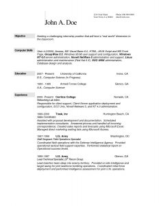 It Technician Resume - Awesome Omputer Science Resume Example