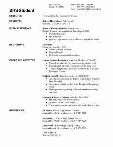 Java Resume - Java Projects for Resume Unique Experience Section Resume