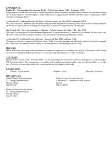 Kellogg Resume Template - 37 Inspirational Resume Template for College Student