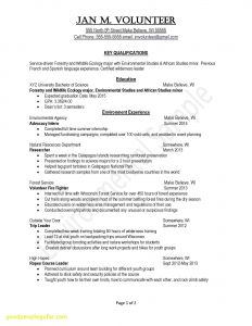 Leadership Resume Template - Team Leader Resume Best Example Resume Objectives Scholarship