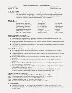 Maintenance Technician Resume - Technician Resume Examples Best Digital Resume Simple Elegant