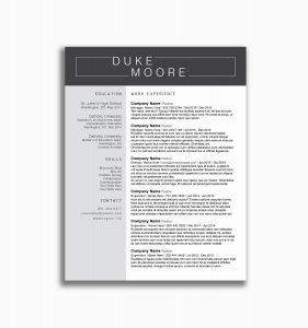Marshall Resume Template - 16 Fine Dining Server Resume