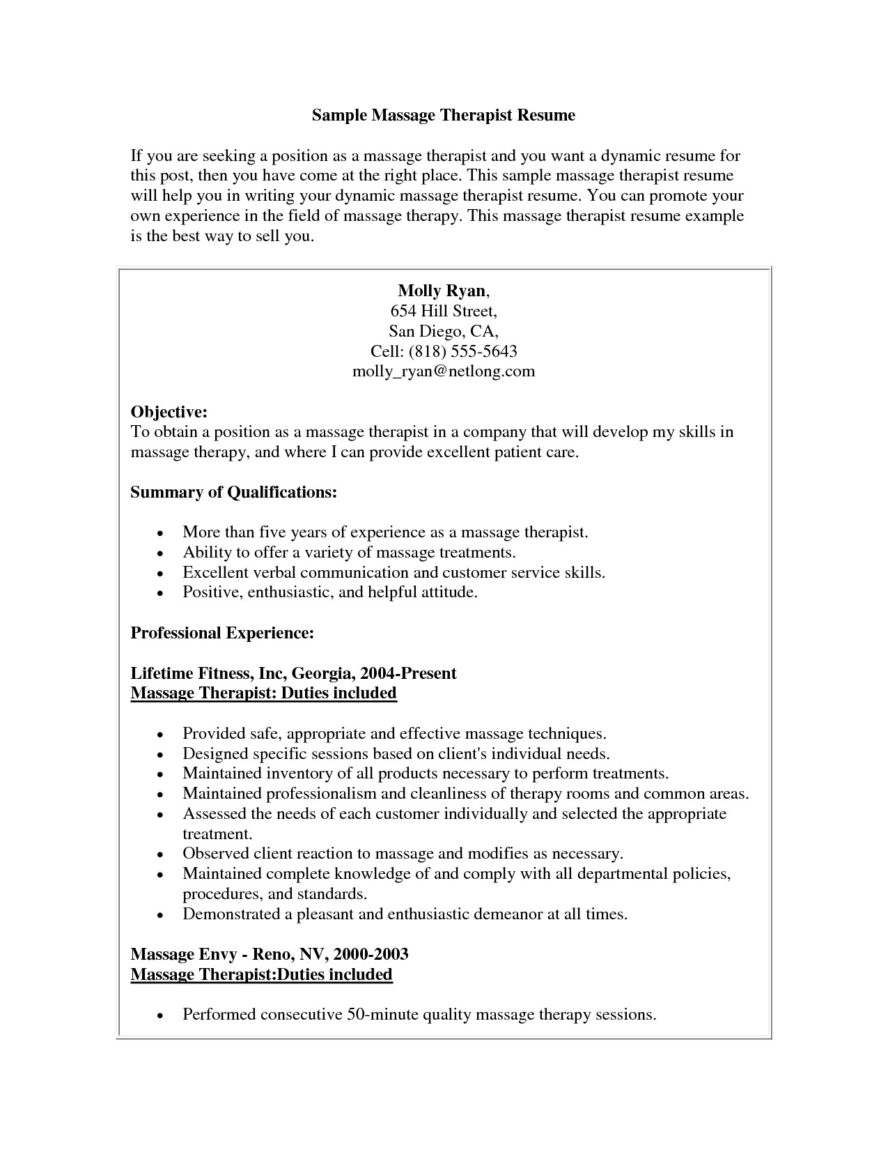 massage therapist resume template Collection-Massage therapist Resume Example Beautiful Massage therapist Resume Sample Massage therapist Resume Sample Massage therapist 12-p