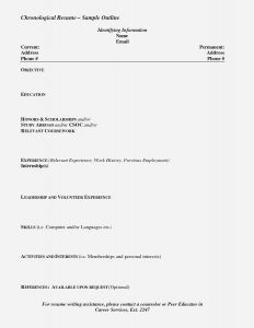 Mccombs Resume Template - New Tamu Resume Template