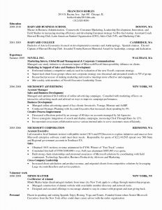 Mccombs School Of Business Resume Template - Ut Mc Bs Resume Template New Undergraduate College Resume Template