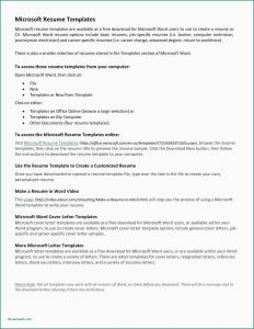 Mechanic Cv Template Resume - Career Change Resume Templates Unique 42 Templates Cover Letters for