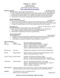 Media Production Resume - Music Producer Resume