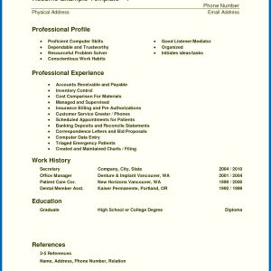 Medical Resume - Resume Medical assistant Examples Awesome Resume Skills for Customer
