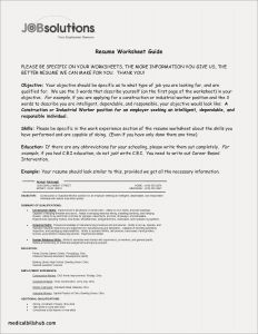 Medical Resume - Objective for Resume Healthcare Example Best Best Sample College