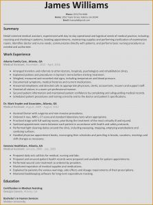Medical Resume Template Microsoft Word - Resume Template Word Awesome Best Federal Government Resume