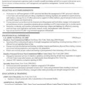Military Resume Template Microsoft Word - Military Resumes for Civilian Jobs Best Military to Civilian