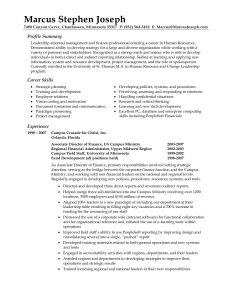 Ministry Resume Template - Resume Template format