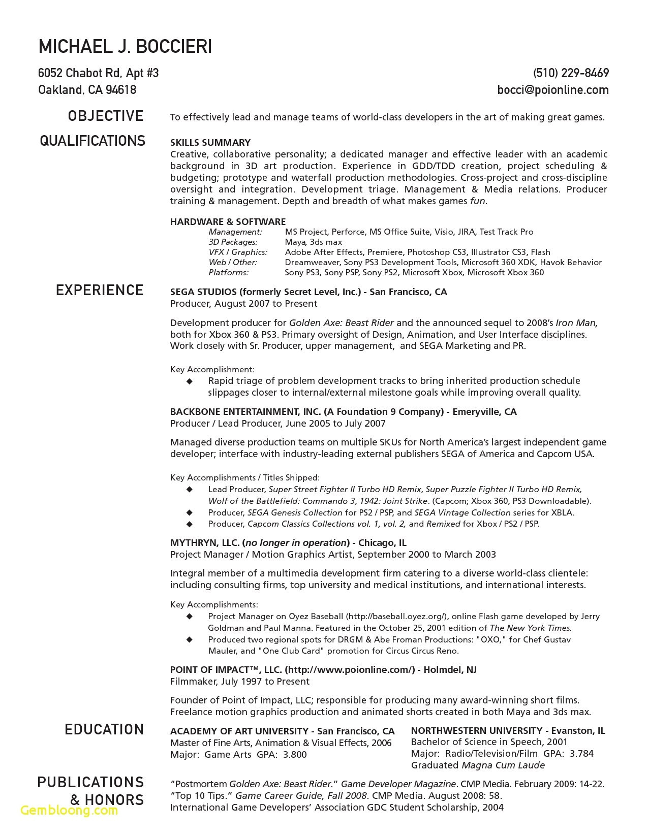 motion graphics resume template example-1 Page Resume Template Best Resume Template Samples Best formatted Resume 0d 20-r