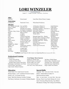 Music Resume Template - Music Resume Template Best Music Resume Template Beautiful Best
