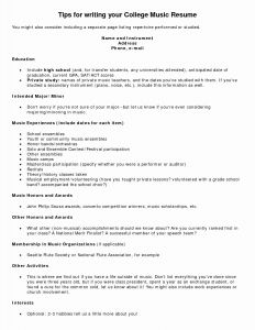 Music Teacher Resume Template - Music Teacher Resume New Resume 49 Unique Resume Music Hd Wallpaper