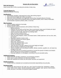 New Grad Nurse Resume Template - New Graduate Resume Unique Best New Nurse Resume Awesome Nurse