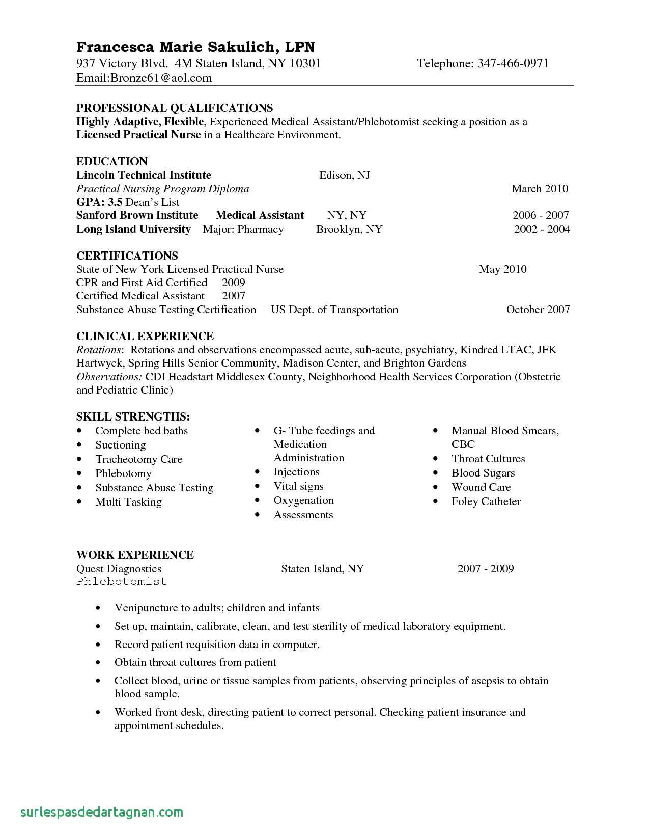 new grad nurse resume template Collection-New Grad Nursing Resume Template Awesome Sample Resume For New Graduate Best New Graduate Nurse Resume 19-f